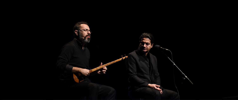 Tahmoures Pournazeri and homayoun shajarian & sohrab pournazeri
